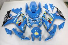 Aftermarket ABS plastic fairing for suzuki gsxr600/750 06-07 RIZLA BLUE color