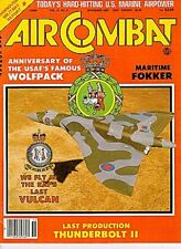 AIR COMBAT V12 N6 CANADAIR CF-101 VOODOO / USAF 32nd TFS / USMC VMFA VMA VMO VMG