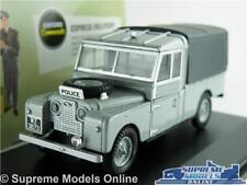LAND ROVER RUC POLICE MODEL CAR 1:43 SCALE OXFORD DIECAST LAN1109006 109 LWB K8
