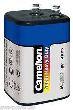 2 x Camelion 6F22 Super Heavy Duty Batterie 9V E-Block 9 Volt Blau MHD 10-2021