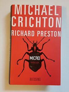 Micro von Michael Crichton und Richard Preston (2011, Gebundene Ausgabe)