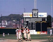 CROSLEY FIELD CINCINNATI REDS VS YANKEES 1961 WORLD SERIES 8X10 COLOR PHOTO