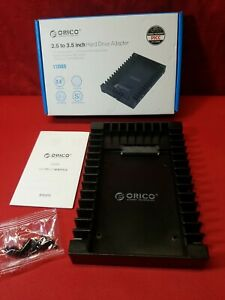 ORICO 2.5 SSD SATA to 3.5 Hard Drive Adapter Internal Drive Bay Converter Mou...