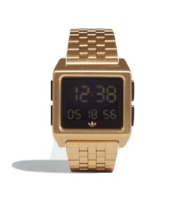 NEW Adidas Archive M1 CJ6308 Gold Stainless-Steel Quartz Fashion Watch 36MM