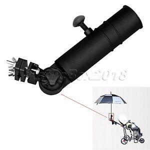 Universal Adjustable Golf Umbrella Holder Golf Club Trolley Cart Accessories New