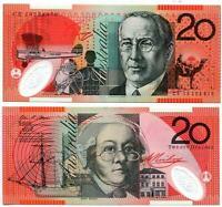 AUSTRALIA 20 DOLLARS 2013 P 59 NEW POLYMER UNC