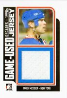 2013-14 ITG Decades 1990s Game Used Jerseys Black #M23 Mark Messier
