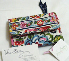 Vera Bradley HOPE GARDEN Euro WALLET Coin TRIFOLD 4 PURSE Tote BACKPACK Bag  NWT
