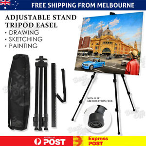 Art Adjustable Stand Artist Tripod Display Sketching Paint Drawing Easel AU
