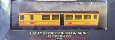 AUTOMOTRICE DU TRAIN JAUNE LA MOTRICE Z-105 - 1909 ATLAS