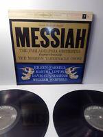 Handel Messiah 2 LP Set Philadelphia Orch. Eugene Ormandy Columbia M2S607
