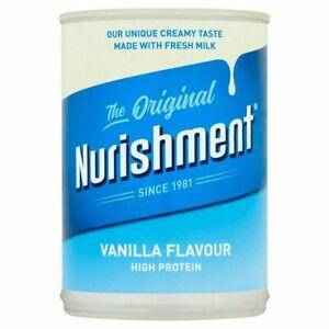 Nurishment The Original Vanilla Flavour Milk Drink (High Protein Creamy)-400g
