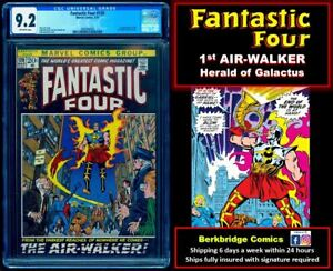 💥 FANTASTIC FOUR 120 CGC 9.2  1st AIR-WALKER 💥 $ 50 OFF w PURCHASE OF 55 or 67