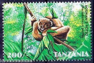 Tanzania 1998 MNH, Bosman's potto, Softly Softly, Wild Animals