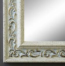 Spiegel Wandspiegel Badspiegel Flur Antik Barock Shabby Verona Creme Weiß 4,4