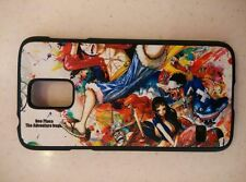 USA Seller Samsung Galaxy S5 SV Anime Phone case One Piece Luffy Straw hat Crew