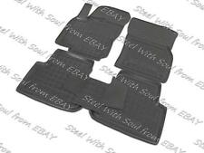 Fully Tailored Rubber / Car Floor Mats Carpet for VOLKSWAGEN TIGUAN II 2016—2017