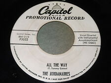 The Jordanaires: All The Way / When The Saints Go Marching In 45 - Gospel