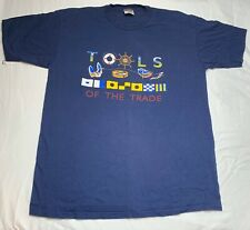 Vintage Sailing Tools of the trade T-shirt XL Extra Large