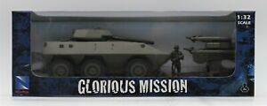 New Ray Army Tank W/ Army Men Figures Glorious Mission 1:32 New Toy