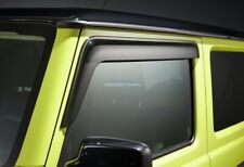 Suzuki Jimny MY19 2019 Genuine Front Door Visor Slimline Weathershields Pair