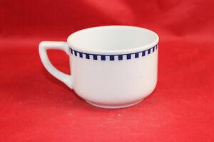 Rosenthal Empire Würfelmuster Jugendstil Tasse Kaffee Tee alt antik  Jugendstil