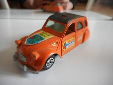 Guisval Citroen 2CV6 in Orange on 1:36
