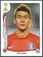 PANINI WORLD CUP 2014- #629-KOREA REPUBLIC-SOUTH KOREA-LEE YONG