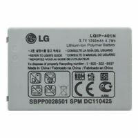 OEM LG LGIP-401N 1250 mAh Replacement Battery for LG Rumor Touch