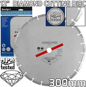 """300mm Diamond Cutting Disc 12"""" Inch Mortar Cutting Blade Stihl Saw Grinder Blade"""