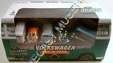 VOLKSWAGEN VW BEETLE SAMBA BUS DRIVE IN 5 PACK GREENLIGHT GREEN MACHINE CHASE