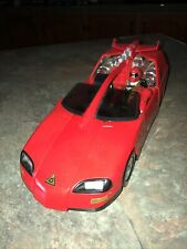 Power Rangers Turbo Lightning Cruiser Red Car with A Red Ranger Figure