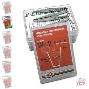 W-FIX 2 Schneidemesser 5-6 mm Rema Tip Top RUBBER CUT Schneide Messer W2 5642865