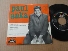 "DISQUE 45T DE PAUL ANKA  "" I MISS YOU SO """