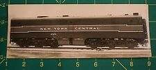 1948 Train Locomotive Builders Card Photo Negative NYC New York Central Rd 4302