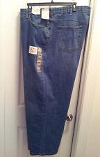 Mens Size 52 Lee Premium Jeans Drifter Straight Leg Loose 31.5 Inseam Big & Tall