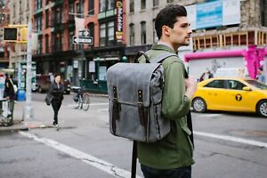 ONA - The Camps Bay - Camera and 17″ laptop messenger bag - Waxed Canvas