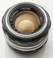 Nikon Nikkor-S Auto 50mm 50 mm 1:1.4 1.4 analog