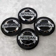 4X BLACK 54mm Wheel Center Cap FOR Nissan 370z Altima Maxima Murano 40342AU510