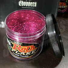 Roth Flake FREEKIN FUSCHIA Chopper Hotrod Metalflake Sparkle Paint JAR