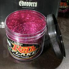 Roth Flake FREEKIN FUSCHIA Chopper Hotrod Metalflake Sparkle Paint JAR