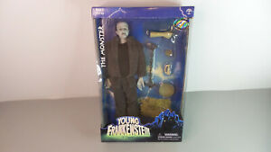 """The Monster 12"""" Figure Young Frankenstein 2001 Sideshow Toy NEW NIP DMG BOX"""