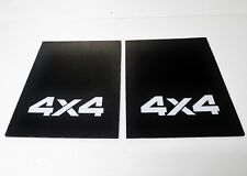 PAIR OF 4X4 REAR DROP SIDE TRAY TOP  MUD FLAPS SUIT MAZDA BRAVO BT50