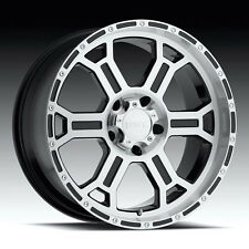 """Set of 4 VTEC Raptor 22"""" x 9.5"""" Wheels 5-139.7 Dodge Ram Dakota Durango ET-12"""