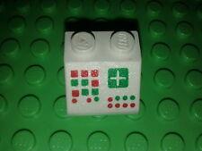 Lego brique imprimée espace blanche /  Sets 7745 7838 442 7834 7755 6346 7740