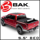 BAK Revolver X4 Hard Rolling Tonneau Bed Cover Fits 2015-2020 Ford F-150 5.5'