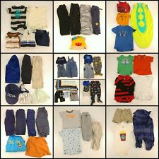 Huge Lot Baby Boys Clothing Size 6-12 Months Infant Wholesale Clothes Outfits