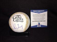 Greg Maddux Signed Official Gold Glove Baseball Atlanta Braves HOF 14 Beckett #2