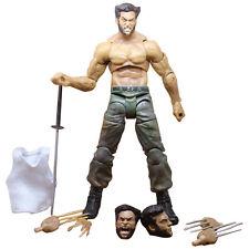 "7"" Marvel Wolverine III Logan X-man Infinite Action Figure Superhero Toys Boxed"