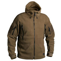 HELIKON TEX PATRIOT FLEECE TACTICAL RECON COYOTE SPEC OPS ARMY COLD WEATHER